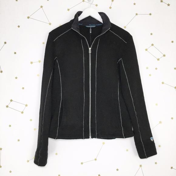 c848201158126 Kuhl Jackets & Blazers - Kuhl • Black Fleece Stella Full Zip Fleece Jacket